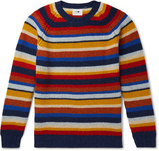 NN07 Striped Wool Sweater