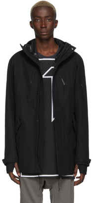 11 By Boris Bidjan Saberi Black Termotaped Jacket