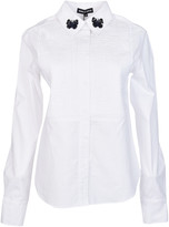 Markus Lupfer Pintuck and Embroidered Shirt