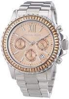 Michael Kors MK5870 Everest Stainless Steel Salmon Dial 42mm Womens Watch