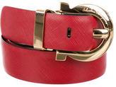 Salvatore Ferragamo Leather Gancini Belt w/ Tags