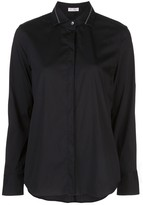 Brunello Cucinelli Bead-Embellished Poplin Shirt