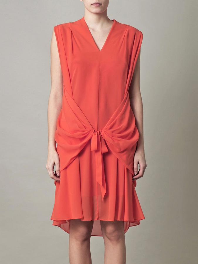 See by Chloe Chiffon wrap dress