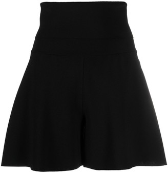 Stella McCartney High-Waist Knitted Shorts