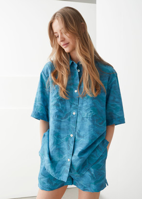 And other stories Boxy Button Up Shirt
