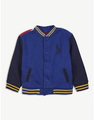 Ralph Lauren Striped baseball jacket 2-7 years