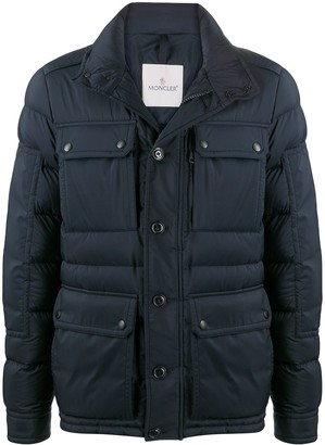 Moncler Funnel Neck Padded Jacket