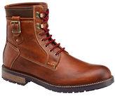 Johnston & Murphy Round-Toe Leather Boots
