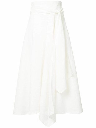 Flow The Label asymmetric high-waisted skirt