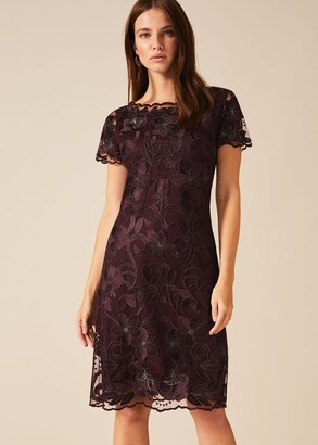 Phase Eight Nessa Embroidered Dress