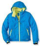 L.L. Bean Girls' Glacier Summit Waterproof Jacket