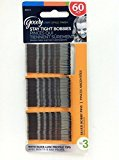 Goody Bobby Pins, Silver, 2 Inch, 60 Count