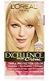 L'Oreal Excellence Creme Haircolor, Light Ash Blonde [9A] (Cooler) 1 ea (Pack of 8)