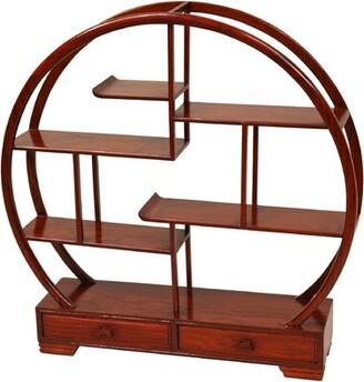 Oriental Furniture Mingei Display Stand Color: Honey