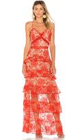 Nicholas Rosie Tiered Gown