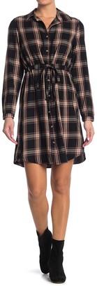 Sarah Plaid Shirt Dress
