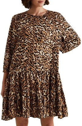 Seed Heritage Leopard Swing Dress No