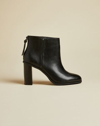 Ted Baker ALIAN Leather block heel ankle boots