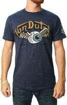 Von Dutch Men's Eyeball Wings Graphic T-Shirt-2XL