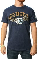 Von Dutch Men's Eyeball Wings Graphic T-Shirt-XL