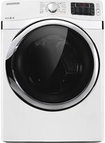 Samsung Electric 7.5 cu. ft. Dryer with Steam Drying Technology - White