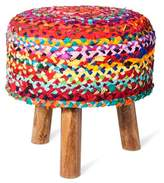 Threshold Woven Tripod Accent Stool