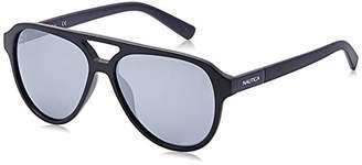 Nautica Men's N3632sp N3632SP-005 Polarized Aviator Sunglasses