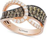 LeVian Le Vian Gladiator® Diamond Ring (1-1/8 ct. t.w.) in 14k Rose Gold