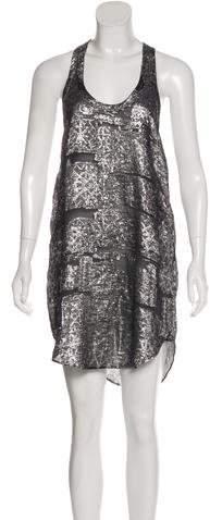 Isabel Marant Silk Brocade Dress