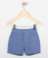 Robeez Blue Attitude Shorts - Infant