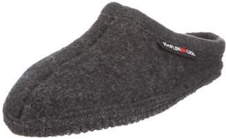 Haflinger Women's Alaska Clogs Grey Size: (45 EU)