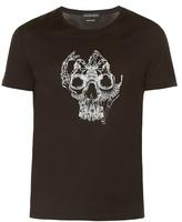 Alexander Mcqueen Skull-print Jersey T-shirt