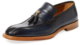 Antonio Maurizi Tassel Leather Loafer