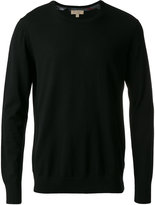 Burberry crew neck jumper - men - Cashmere - S