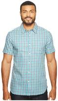 The North Face Short Sleeve Passport Shirt ) Men's Short Sleeve Button Up