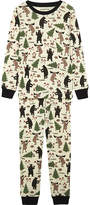 Hatley Lumberjack print cotton pyjamas 4-12 years