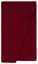 Sofia Cashmere Classic Cashmere Rib Trim Throw