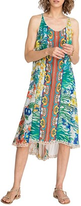 Johnny Was Avalon Dress w/ Slip (Multi 2) Women's Clothing