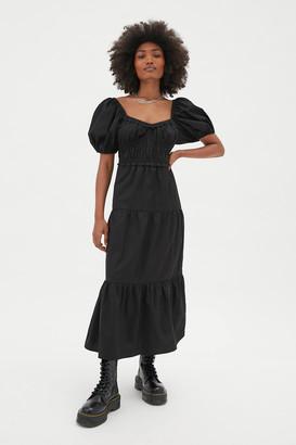 Rahi Zoomie Puff Sleeve Midi Dress
