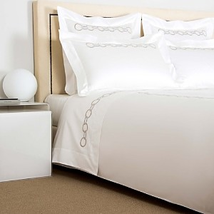 Frette Links Embroidery Sheet Set, King