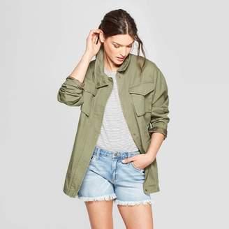Universal Thread Women's Utility Field Jacket Olive