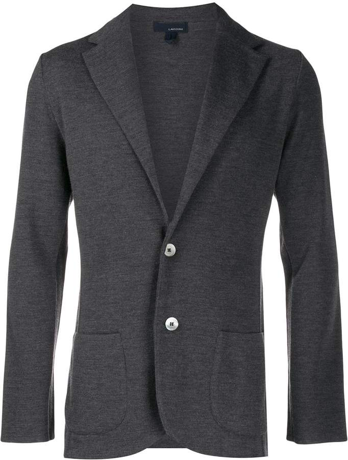 Lardini fitted single-breasted blazer
