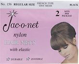 Jac-O-Net Black Regular Size Hairnet