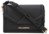 Karl Lagerfeld Women's K/Klassik Super Mini Cross Body Bag Black