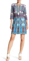 Sandra Darren Printed Shift Dress