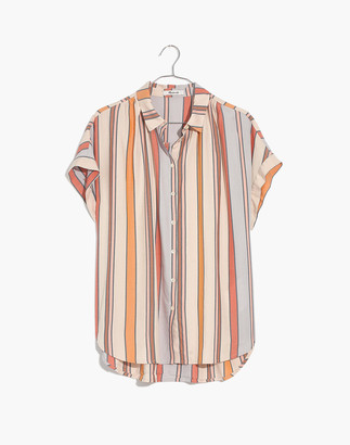 Madewell Central Shirt in Daley Stripe