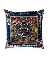 "Designers Guild Mystere Arlequin Pillow, 24""Sq."