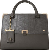 Dune Donovan faux-leather flap over bag