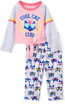 Rashti & Rashti Pete the Cat 'Cool Cat' Two-Piece Pajama Set - Toddler & Girls