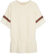 Tory Burch Mercerized woven cotton tunic